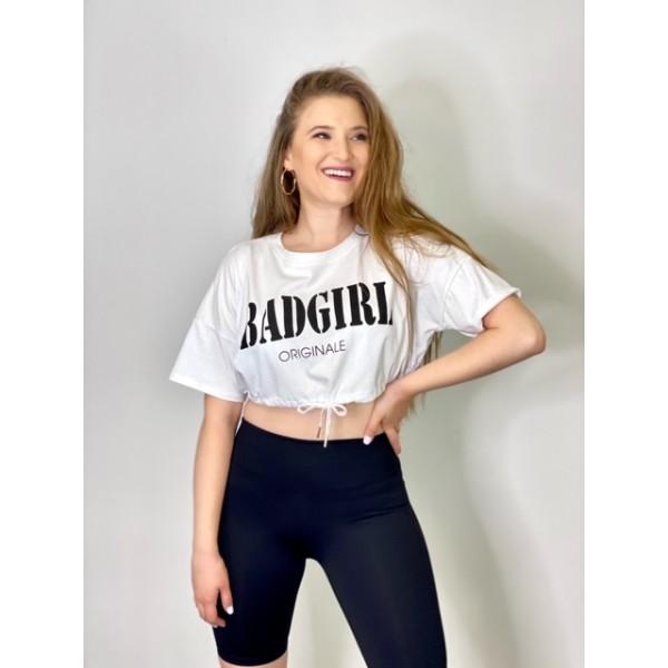 Camiseta Bad Girl Blanca