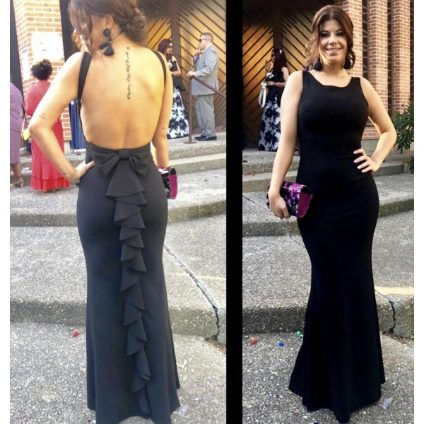 Vestido Gabriela Negro