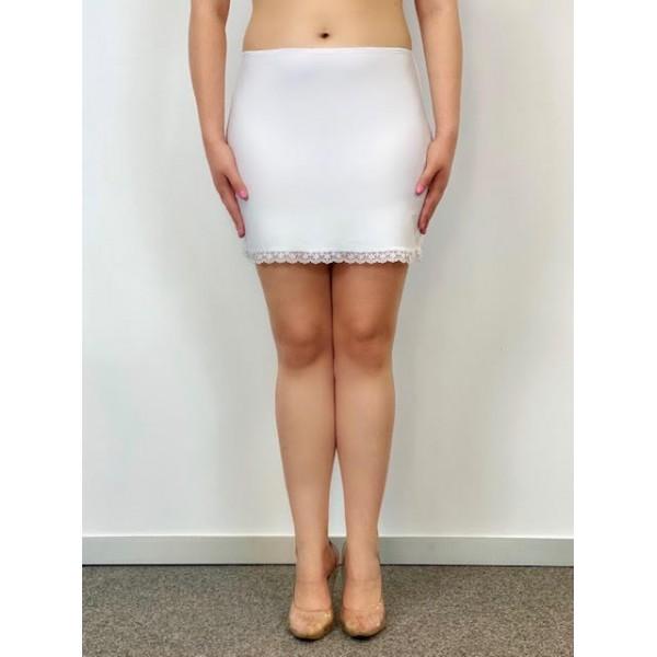 Combinación Falda Blanca