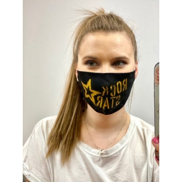 Cover Mask Rock Star