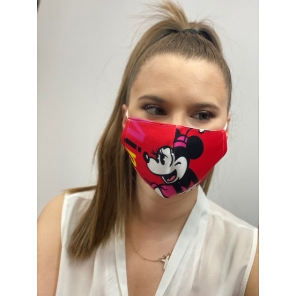 Cover Mask Mini Red