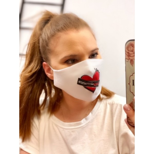 Cover Mask keep Distance