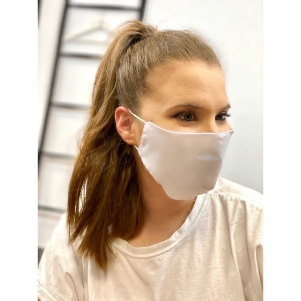 Cover Mask Blanca