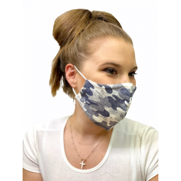 Cover Mask Camuflaje Azul