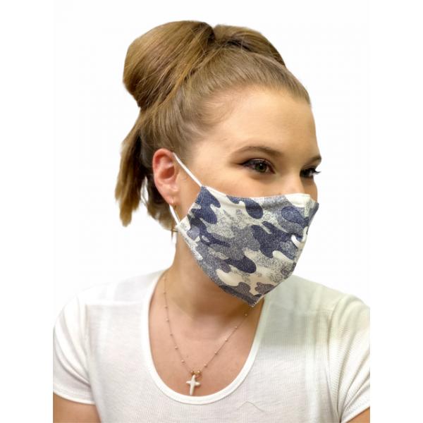 Cover Mask Camuflaje Azul
