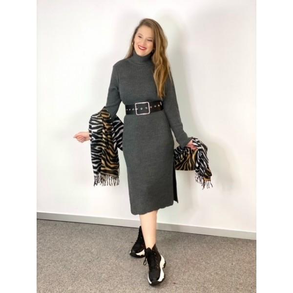 Vestido Amber Gris