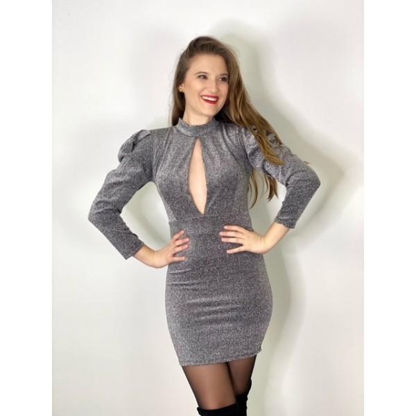 Vestido Mayka Plata