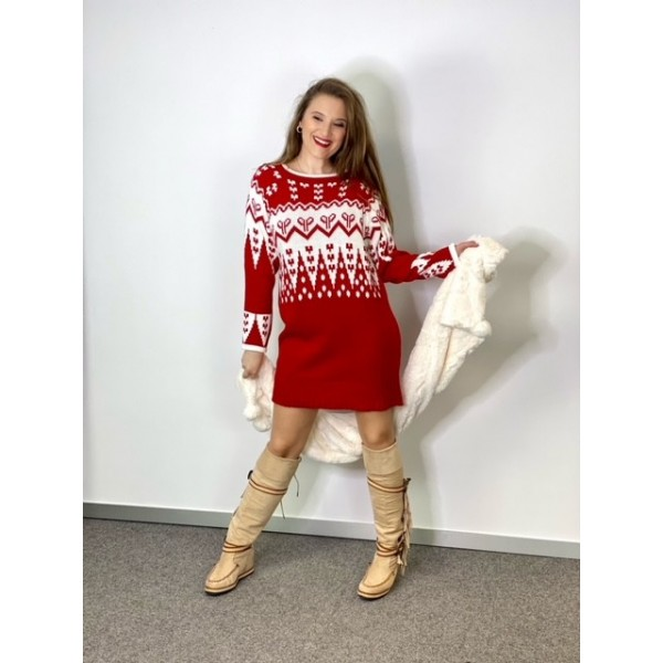 Vestido Acirón Rojo