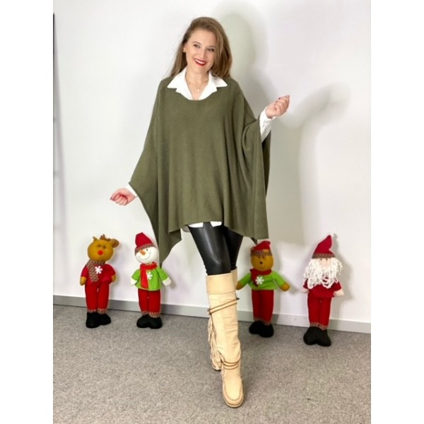 Jersey Poncho Verde