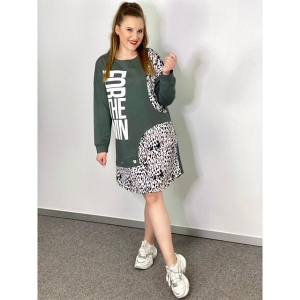 Vestido GreenLeopard