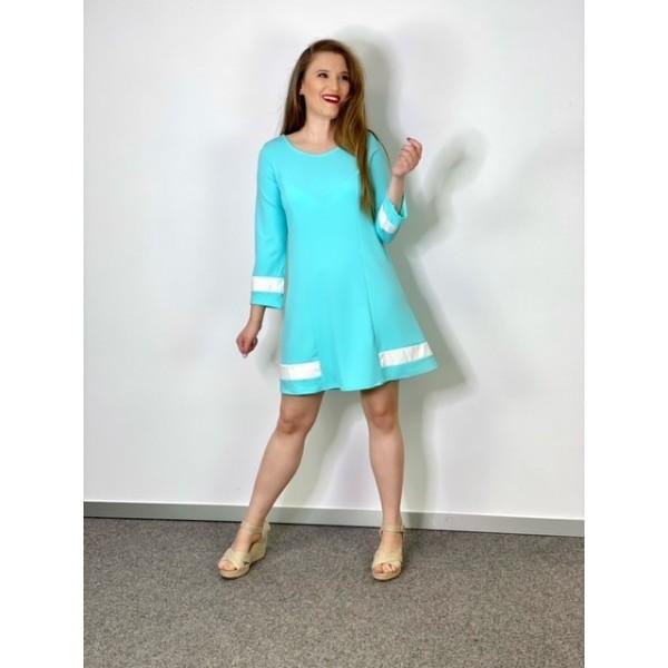Vestido Boheme Azul