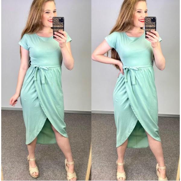Vestido Belinda Verde Agua